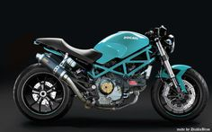 my proto ducati monster 695 tune by DiabloBros turquoise Ducati Monster 695, Ducati Monster Custom, Concept Motorcycles, Ducati Motorcycles, Cafe Racing, Cafe Racer Motorcycle, Ducati Desmo, Monster Co, Custom Cafe Racer