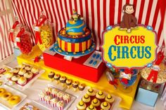 Kids Circus Party Idea