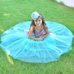 Mermaid (Ariel) Costume by monikids on Etsy