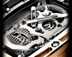 This Is One Wicked Watch. The Tourbillon RM 052 Titanium Skull.