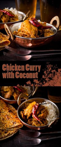 Heady with Cloves & Cinnamon this Fragrant Indian Chicken Curry also packs a punch of chili to get the blood racing, which of course you could tone down