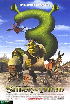 Shrek the Third FULL MOVIE Sub English Animated Movie Posters, Best Movie Posters, Streaming Hd, Streaming Movies, Dreamworks, Shrek 2, Free Hd Movies Online, Princess Fiona, Audio Latino