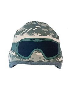 Keep your Army baby looking cute in one of these exclusively designed baby goggle caps!  - Ammo Can Man