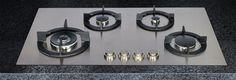 KPGM gas hobs, a new design by abk-innovent.com