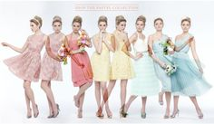 Adorable spring bridemaids dress