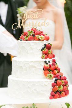トリートドレッシング トリート VERA WANG ベラウォン バルーンベール プレ花嫁 ナンザンハウス ウエディングドレス もっと見る Wedding Sweets, Wedding Table, Pretty Cakes, Beautiful Cakes, Red Velvet Wedding Cake, Tool Cake, Valentine Desserts, Wedding Story, Fancy Cakes