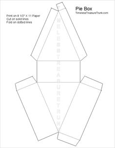 Coffin box template bjl templates pinterest box for Coffin cake template