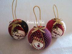 Kit Bolinhas de Natal | Viviane Lima | Elo7
