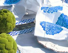 I pinned this from the Lowcountry Linens - Hand-printed Pillows, Napkins & More event at Joss and Main!