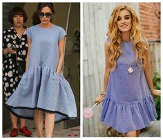 Тренд №6: Модное летнее платье с воланом на подоле