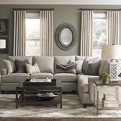 Grey And Tan. Cozy Living RoomsLiving Room ...