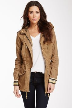 Embellished Trim Cargo Jacket by Willow & Clay on @nordstrom_rack