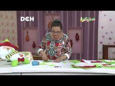 Cojín Estrella Pascuero y nieve- Yasna Pino - Casa Puchinni - YouTube U Tube, Ideas Para, Christmas Decorations, Seasons, Summer Dresses, Sewing, Christmas Decor, Feltro, Hand Crafts