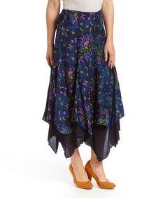 Eagle Ray Traders Starry Night Handkerchief Skirt | zulily