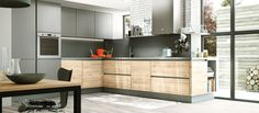 Cuisine contemporaine américaine House Design, Home, Kitchen Remodel, Home Remodeling, Bars For Home, Kitchen, Kitchen Dining Room, Wood Kitchen, Home Kitchens