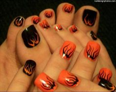 nail art ideas for toes