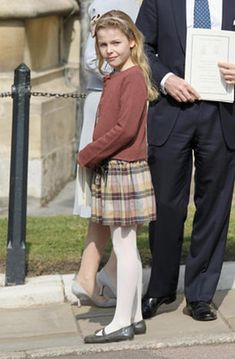 Margarita Armstrong-Jones Relationship to the throne: daughter of David Armstrong-Jones, Viscount Linley, and Serena Armstrong-Jones, Viscountess Linley  Born: May 14, 2002