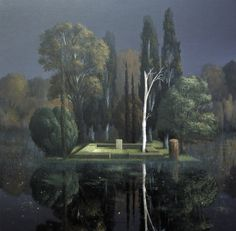 Arnold Böcklin: Tombstone, c.1880.