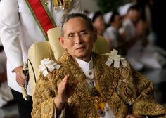 The king, ruler for seven decades, was regarded as a near-deity in a country defined by political turbulence.