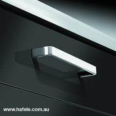 Häfele creates it's furniture handle collection: designs and finished for every taste Furniture Handles, Cabinet Makers, Industrial Furniture, Bathrooms, Hardware, Architecture, Kitchen, Collection, Design