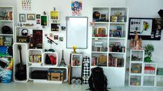 Knick Knack Shelf Decor, Designed and Styled by Niyoti