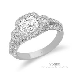 Beautiful, cushion-cut design... #StarGems #stevesjewelers