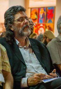 Abel Prieto Jiménez, Ministro de Cultura, durante el Coloquio: Fidel, política y cultura. (Foto: Rafael FERNÁNDEZ ROSELL/ACN)