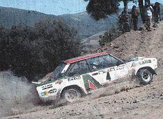 Fiat 131abarth  Alen Kiwimaki  Portogallo 78