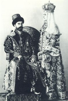 Nicholas II and Alexandra at the 1903 ball in the winter palace