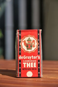 de Gruyter thee / tea