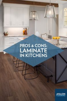 Every type of flooring has both advantages and disadvantages, and laminate is definitely one of them. While it's a material that could be a great choice for certain kitchens, it may not be for others. And the only way to figure out if it's ideal for your kitchen, is by weighing its pros and cons. So, let's get into them.