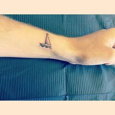 TAT2 #tattoo #new #2 #sailboat #sailing #yacht by deeznutz_aintloyal