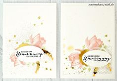 """Cards with Stampin' Up!   """"So froh"""" - """"Lotus Blossom""""   #sab #saleabration   nadinehoessrich.de"""