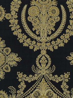 Neoclassical Damask Wallpaper | AmericanBlinds.com