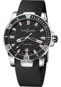 Ulysse Nardin - Marine Diver Lady 40mm - Stainless Steel Watch 8153-180-3/02