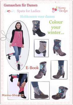 Free sewing pattern for Spats Leggings pattern on www.Stoff-Schmie.de