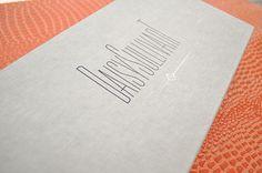 Emily McCarthy Branding Design |  Daisy Sullivant Black & Gold Hot Stamp Custom Box