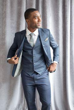 custom groom suit