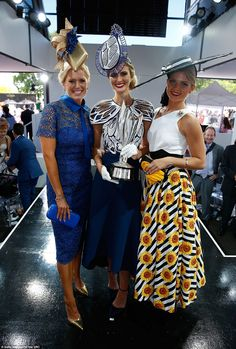 Top three: Ms Moore (centre) was joined in a photo by second runner-up Gracyn Marsterson (...