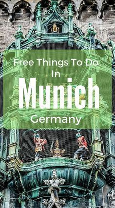 Free things to do in Munich Germany. Our mission is to give you a big enough taste to whet your appetite and leave your memories of Munich as magic. Not just a Munich City guide but and actual layout based on our own experiences in the city. Visit Germany, Munich Germany, Germany Travel, Visit Munich, European Vacation, European Travel, Travel Europe, Shopping Travel, Croatia Travel