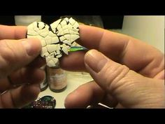 How To Make A Beautiful Egg Shell Heart Pendant with Alcohol Ink-Part 1