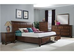 Shop for Elements International , Chatham Storage Bedroom, and other Master Bedroom Sets at Elements International in Rockwall, TX. The Chatham bedroom vaunts a rich cherry semi-gloss lacquer finish with beautiful Pine wood moldings featured throughout the case pieces.