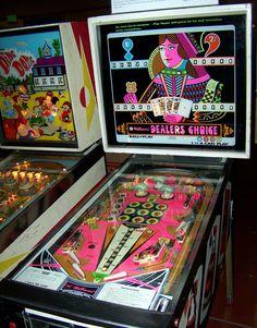"1974 Dealer Choice ""Williams "" Pinball Machine"