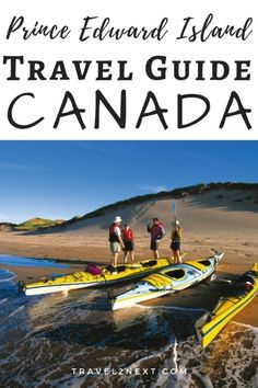 Prince Edward Island beaches, golf courses, food and other things to do in Charlottetown for an island holiday in Canada. Visit Canada, Canada Canada, Alberta Canada, World Travel Guide, Travel Tips, Travel Guides, Quebec, Vancouver, Toronto