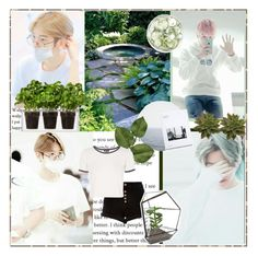 """""""Baekhyun"""" by kpop-before-you ❤ liked on Polyvore featuring Boskke, River Island and Topshop"""