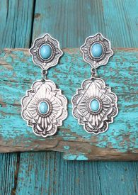 Metal Western Earrings $13.99