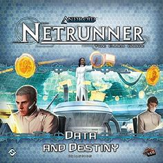 Android Netrunner LCG Data and Destiny Expansion Card Game
