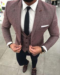 Mens fashion looks Blazer Outfits Men, Mens Fashion Blazer, Stylish Mens Fashion, Stylish Mens Outfits, Suit Fashion, Prom Suits For Men, Dress Suits For Men, Formal Dresses For Men, Formal Men Outfit