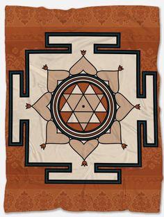Durga Yantra Blanket Marble Comforter, Comforter Sets, Elephant Bedding, Geometric Bedding, Polar Fleece Blankets, Durga, Vibrant Colors, Pillow Covers, The Incredibles