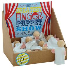 The Greatest Finger Puppet Show – Seedling